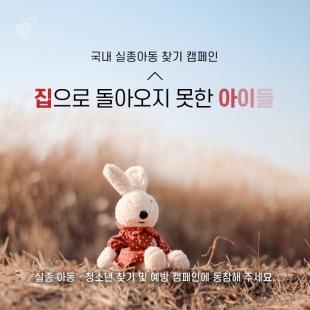 <희망조약돌 국내 실종아동 …